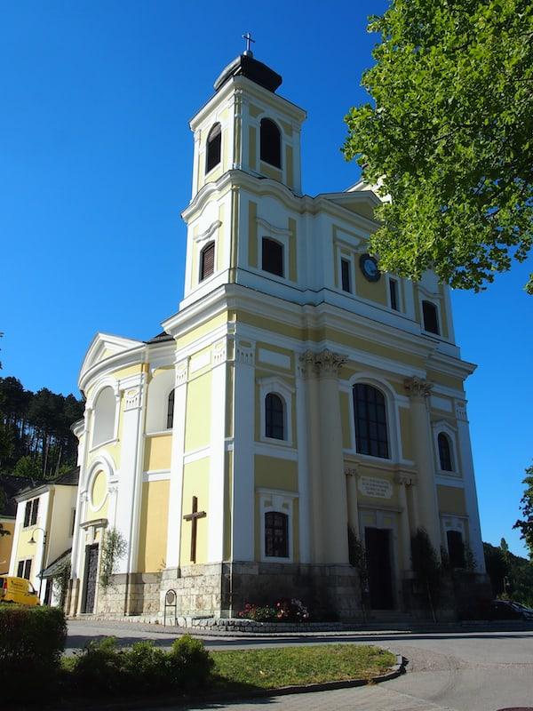 Von der Kirche am Hafnerberg sind es noch rund sechs Kilometer nach Kleinmariazell, dem ersten Etappenziel unserer Pilgerreise im Mostviertel. Was die Eindrücke des ersten Tages betrifft, so könnt Ihr diese hier detailliert nachlesen!