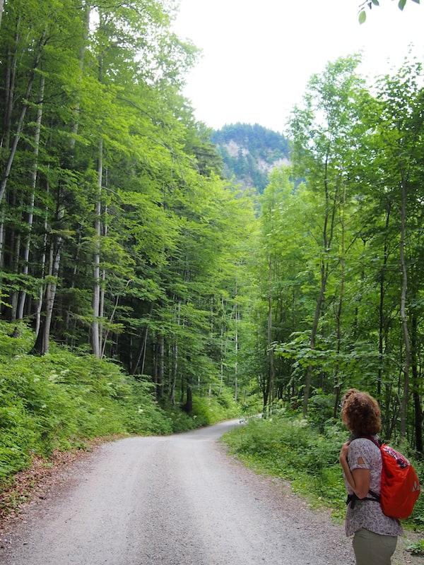 ... und uns den Weg in das schöne Annaberg weist.
