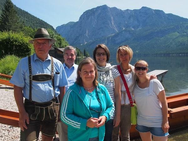... diesen Ausflug werden wir alle so schnell nicht vergessen: Danke lieber Herbert für die schönen Stunden am Altausseersee!