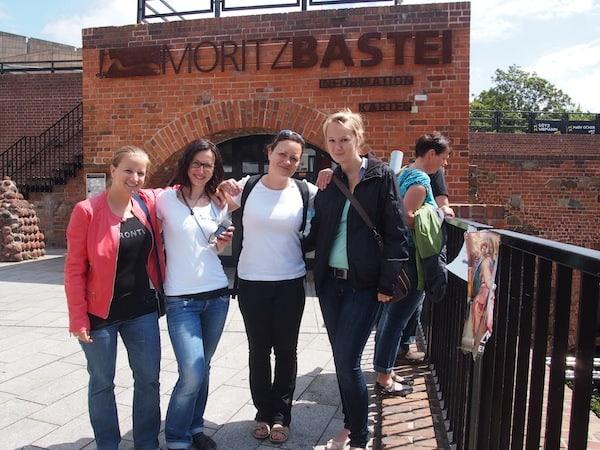 Vielen Dank für den tollen *betourenden Besuch hier in Leipzig, liebe Katja!