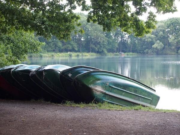 ... gleich im Anschluss lob' ich mir die Ruhe am wunderschönen See des Kletterpark Leipzig.