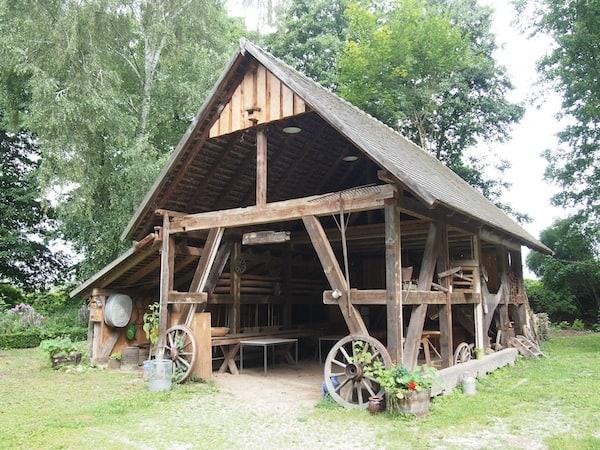 ... viele Jahre Fleiß & Einsatz waren vonnöten, um die alte Mühlanlage wieder so zu restaurieren.