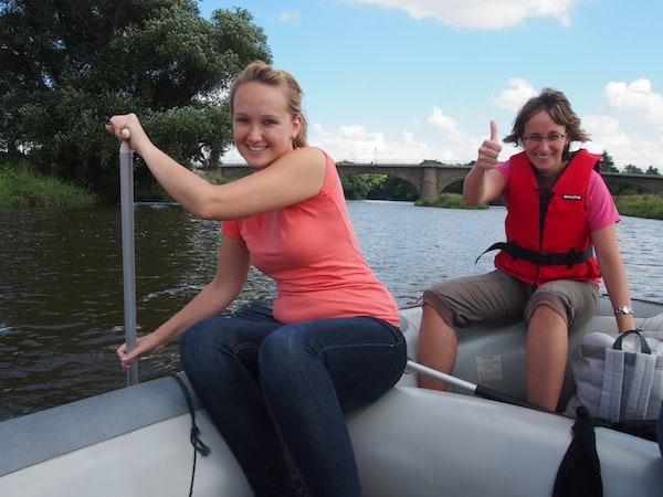 "Lisa & Kathleen stechen top-motiviert ""in See"" ...!"