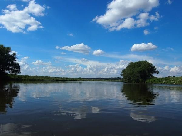 ... vor allem beim Anblick wunderschöner Flusslandschaften wie diesem hier.