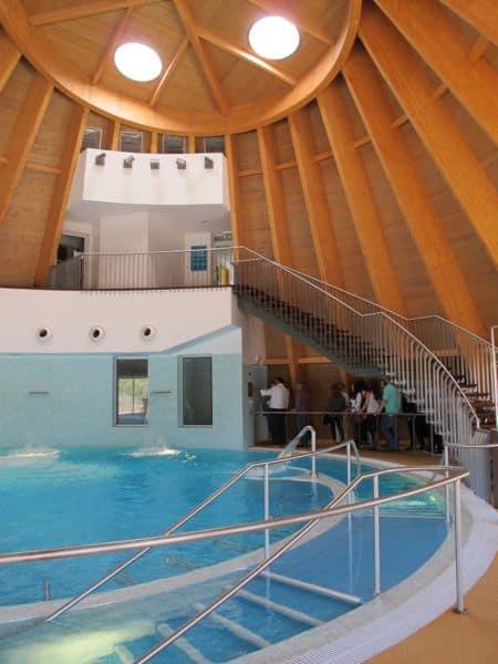 """Die """"Thermas do cro"""" sind ein modernes Gesundheitszentrum in der Nähe von Sabugal."""