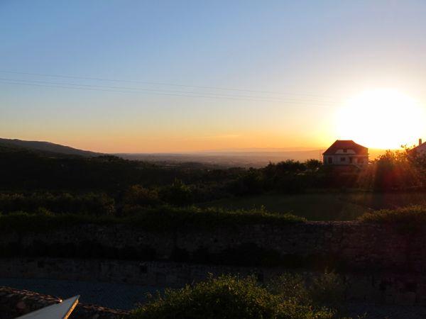 Ausblick vom Hotel Inatel in Linhares da Beira über die Weiten Portugals