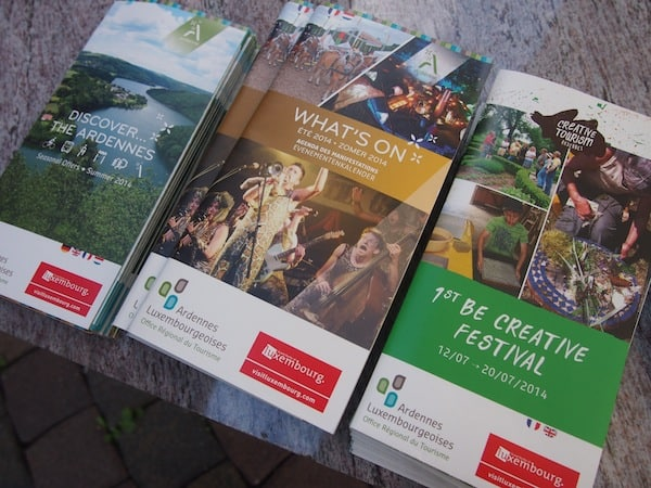 """Ankommen in den kreativen Ardennen: Zum ersten Mal findet 2014 das jährlich stattfindende Kreativ-Festival """"Be Creative in the Ardennes"""" statt."""