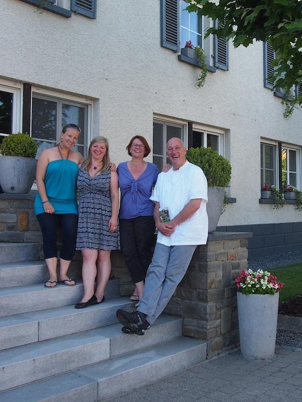 Vielen Dank, liebe Maryse, lieber Hans, für den schönen und sehr interessanten Besuch bei Euch in Roder!
