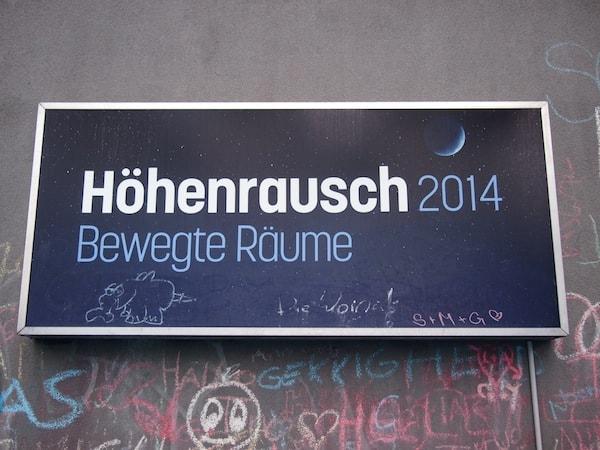 Höhenrausch zahlt sich aus - noch bis Oktober 2014 in der Stadt Linz!