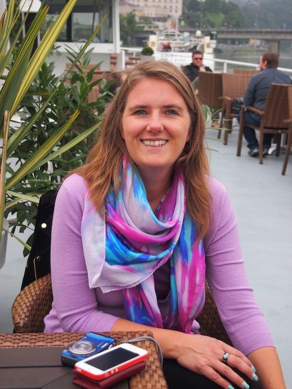 Gisela, unsere Gastgeberin, hat den Blick fürs Detail und weiß uns bestens zu unterhalten und zu informieren.