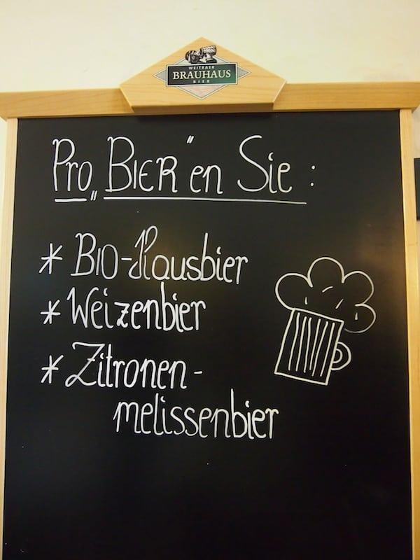 """Wir haben """"ProBIERt"""" und sind von allen hier angebotenen Bierspezialitäten begeistert!"""