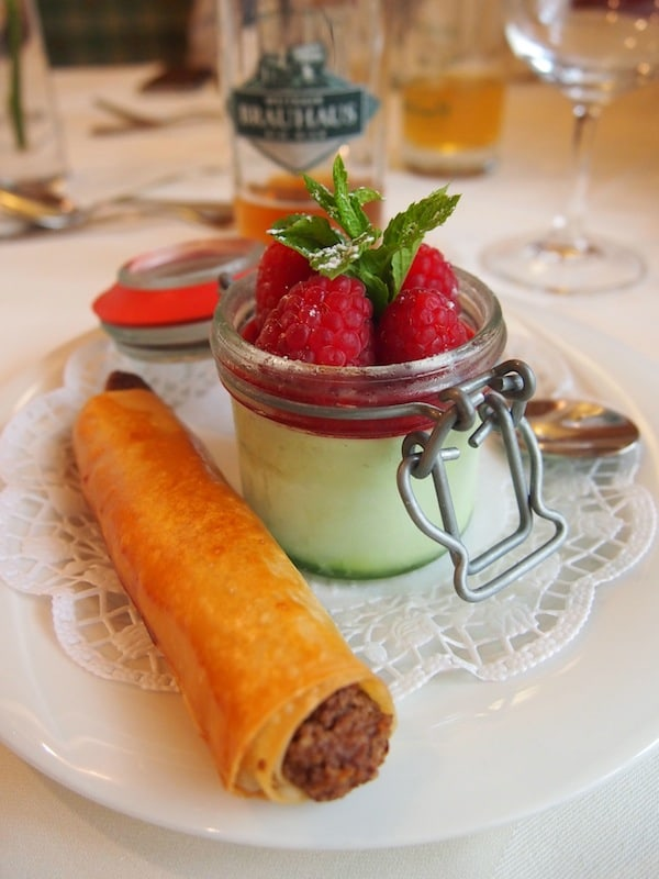 Die Kulinarik I'm Restaurant Brauhaus Weitra lässt ebenfalls nichts zu wünschen übrig!