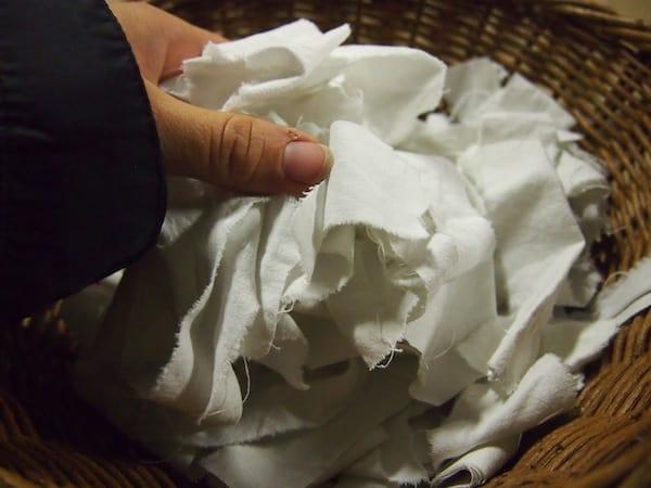 """Unfassbar (für mich), dass aus solch alten """"Baumwoll-Hadern"""" das am längsten haltbare Papier gemacht wird !!"""