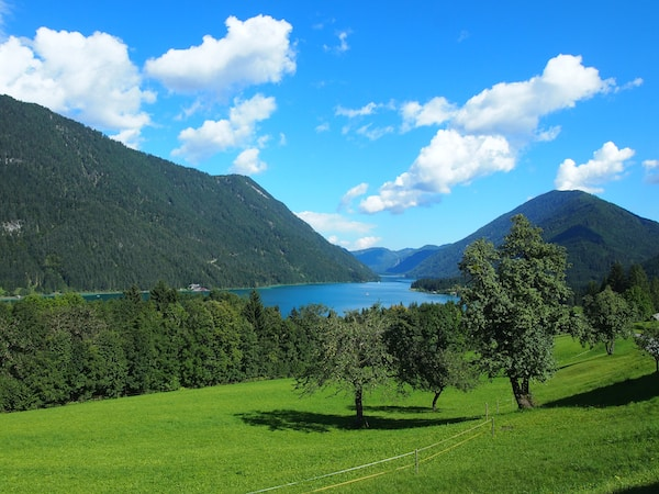 Der Kärntner Weißensee ist ein wahres Naturparadies ...