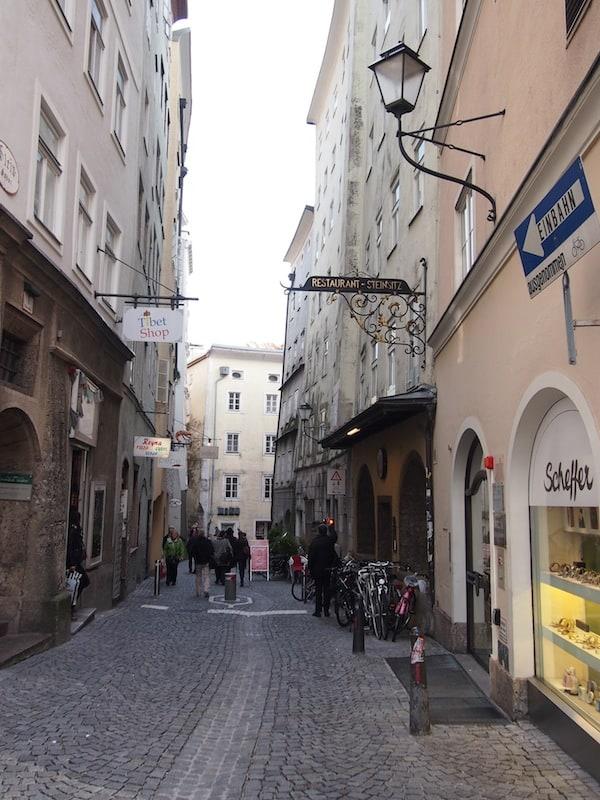 Auf unserem Rundgang durch das historische Salzburg ...