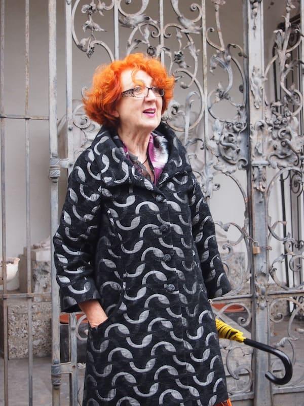 Stadtführerin Heidi Hochrießer ...