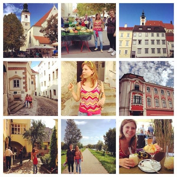 Vielen Dank in jedem Fall, liebe Lucia, für diesen schönen Nachmittag mit Dir in Krems!