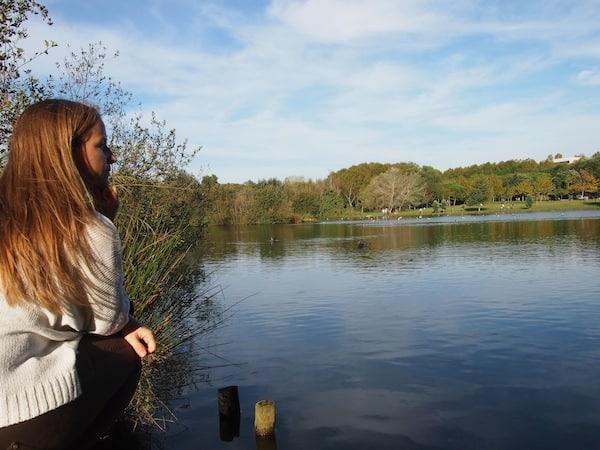 Ich mag es hier ... die Ruhe, die Weite, der Blick, ein bisschen Musik im Ohr und entspannte Menschen rund um mich.!