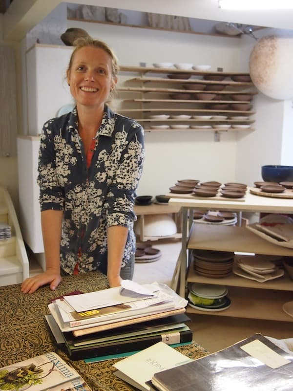 A warm welcome to Petra Lindenbauer ceramic atelier & workshop in Stadtschlaining!