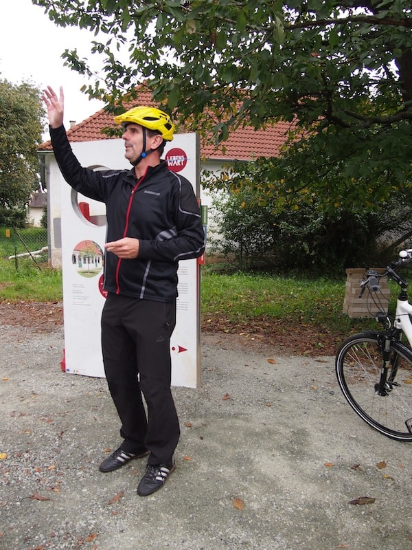 We visit Aloisia as part of an e-bike tour with our local country host and expert tour guide Martin Ochsenhofer.