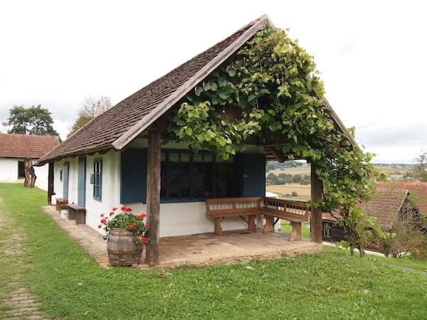 ... vor allem dieses alte Bauernhaus hat es mir angetan!