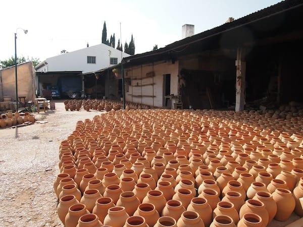 Zu Gast in der Keramikwerkstatt von Armando ...