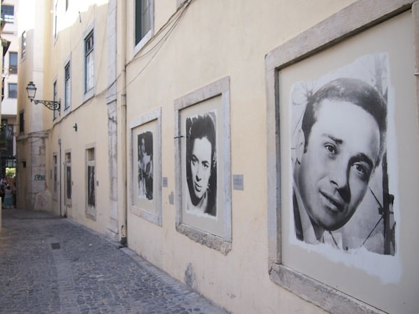 Der Stadtteil Mouraria ist eine der Wiegen des Fado in Lissabon ...