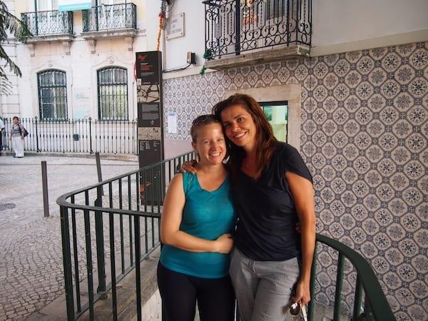 ... und vor allem Dir, liebe Filipa, für die zahlreichen Einblicke in die Genuss-Kultur der Portugiesen hier in Lissabon, bei der gerne auch mal neue Freundschaften entstehen ..!