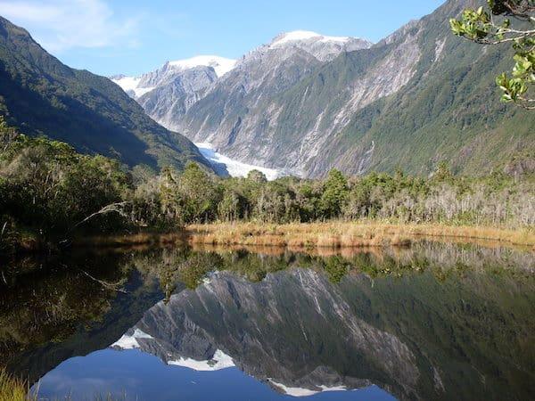 ... auf eine Reise zu den spektakulärsten & faszinierendsten Orten dieser Welt - Franz Josef Gletscher, Westküste, Neuseeland.