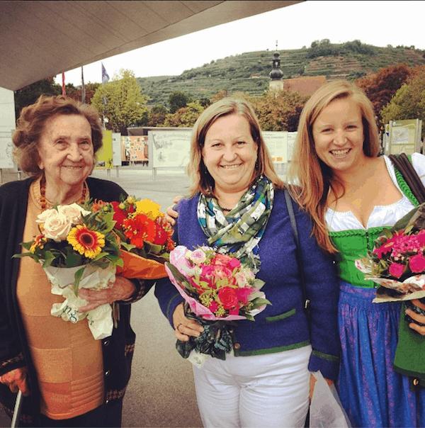 Anlässlich Oma's & Mama's Geburtstag letzten Sommer feiern wir 178 Jahre (!) gesammelter Weisheiten und gegenseitiger Inspiration ... One family, one dream, one passion!