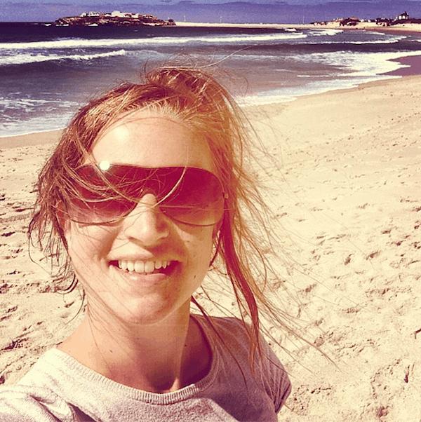 Reiseglück, das: Auf Beach-Surfer-Selfies wie dieses in Portugal zurückblicken können. Bin ich gespannt, was mich bei dieser Reise alles erwarten wird!
