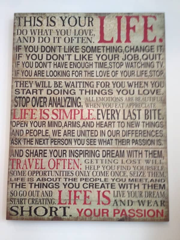 This Is Your Life. Life Is Simple. Travel Often. Life Is Your Passion. :D