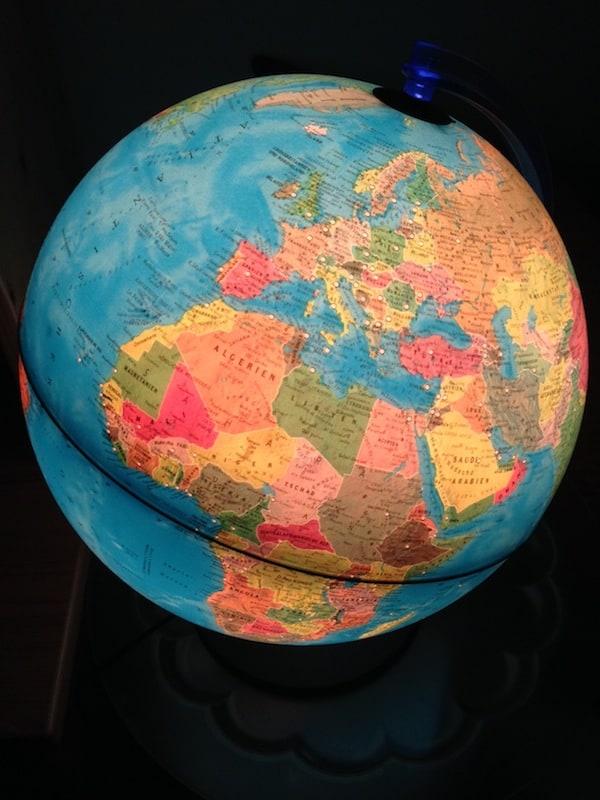 """Noch längst beherrsche ich nicht alle Sprachen der Welt (oder Europas!), aber ein guter Anfang ist mit Deutsch, Englisch, Französisch, Spanisch & Portugiesisch getan. """"Parece Poesia ..."""" ich liebe es!"""