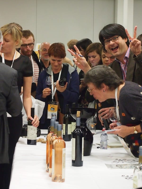 Right after Disrupt Wine Talks and all the emotions connected with them, it is back to basics - more wine tasting at #DWCC14 !!