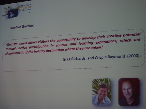 The original definition of creative tourism continues to evolve ...