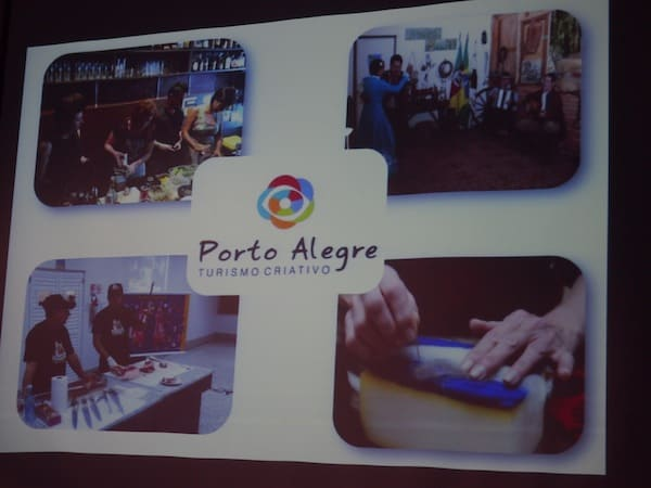 ... and finally Brazil, whose first ever creative travel destination Porto Alegre ...