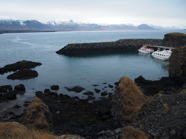 Wir blicken auf das friedliche, äußerste Ende Islands ganz im Westen des Landes ...
