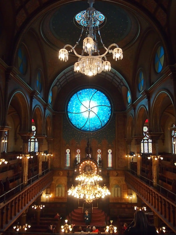 Right here on Eldridge Street, we take a look at New York's oldest (restored) Jewish Synagogue that is well worth the visit!