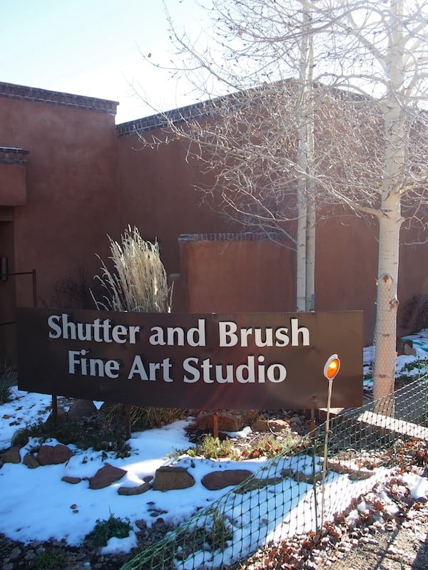 "Herzlich willkommen bei ""Shutter and Brush Fine Art Studio"" in Santa Fe, New Mexiko!"