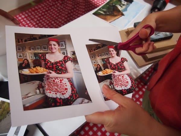 ... derer wir uns anhand bestehender Bilder wie dieser hier bedienen: Angel gibt mir Bilder meines eigenen Reiseblogs zur kreativen Gestaltungsfreude, wie hier zur Eating London Food Tour