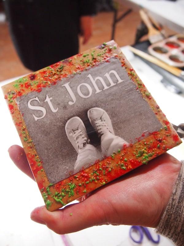 ... und St John ist immerhin ganz klasse geworden, findet Ihr nicht auch?