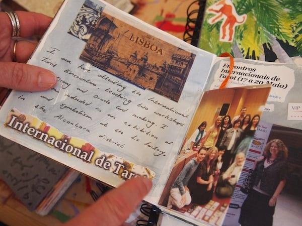 ... wie beispielsweise auch diese Reise hier nach Portugal, zur Internationalen Tarotkarten-Konferenz: Ist es nicht immer wieder spannend, was es alles gibt auf der Welt ?!
