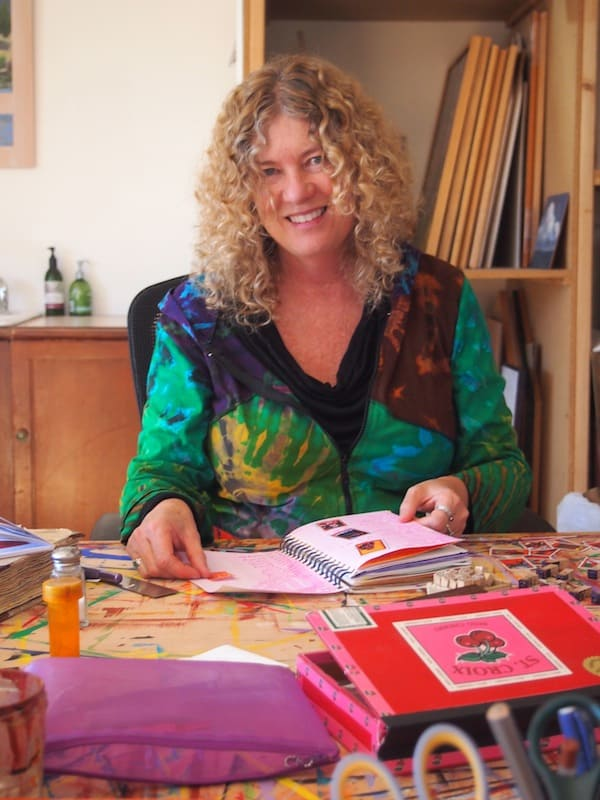 Jedes Mal etwas Besonderes: Einen Künstler / Eine Künstlerin in ihrer einzigartigen, individuellen und sehr persönlichen Umgebung kennen zu lernen.