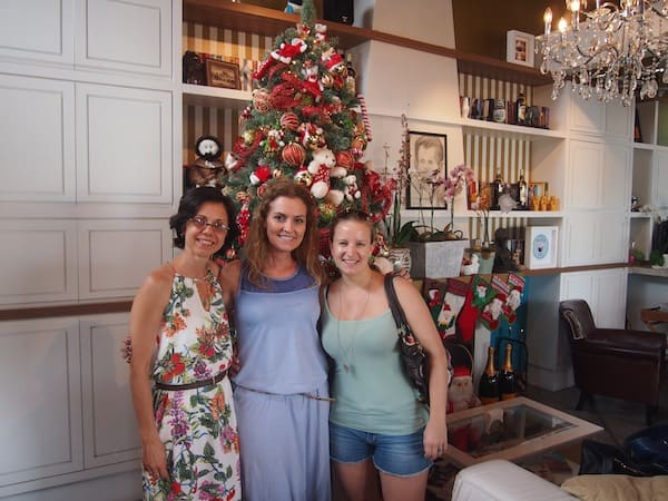 "Dear Sonia, dear Syomara – you are my ""meninas angelinhas"" here in this magic city that is Florianópolis! Thank you for such a wonderful visit – even though I still cannot quite get to the magic of a summer Christmas (não pega). ;)"