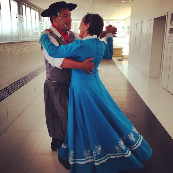 This delightful couple too has a knack for dancing: Marcos & Clarice Fiuza ...