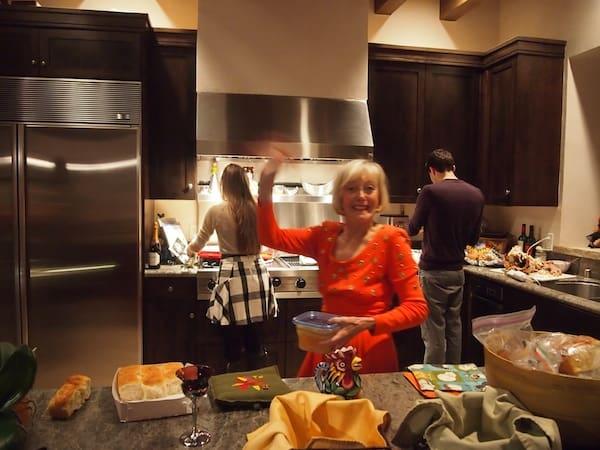 Rebecca Wurzburger hier in Action während der größten amerikanischen Familienfeier, Thanksgiving zu erleben, ist zudem ein Geschenk wie es nur wenigen Reisenden zuteil wird.