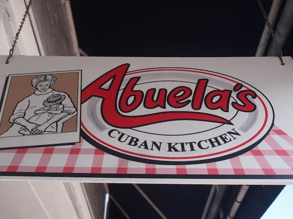 "And would you guess that our next foodie stop is just around the corner? The second out of a tasteful selection of five different food stops altogether, we stop at a place called ""Abuela's Cuban Kitchen""."