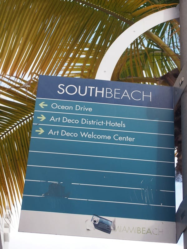 As the tour unwinds, I am taken to South Beach Ocean Drive for another peek at the ...