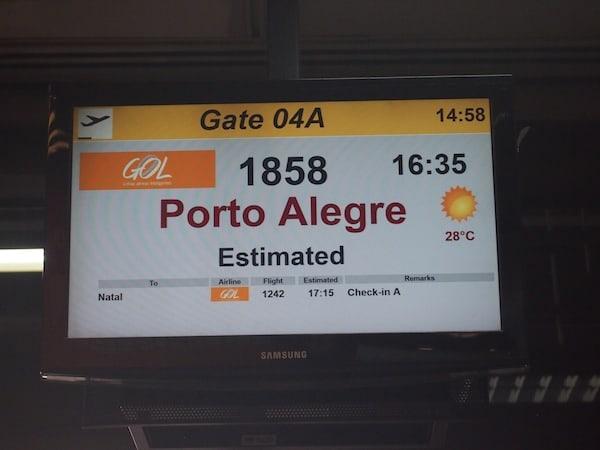 Porto Alegre ...