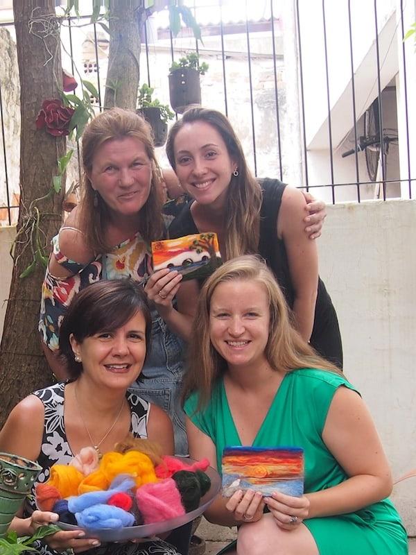 ... so ist Kreativ-Reisen wieder & wieder ebenso eine Verarbeitung & Verknüpfung der zahlreichen Momente und Begegnungen auf Reisen in ein und derselben Destination wie Porto Alegre ...